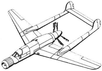 Истребитель «Фокке-Вульф» с двигателем BMW 803/II