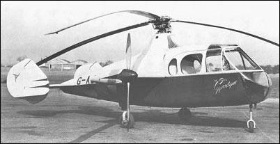 Вертолет «Джайродайн» (Fairey Jet Gyrodyne)