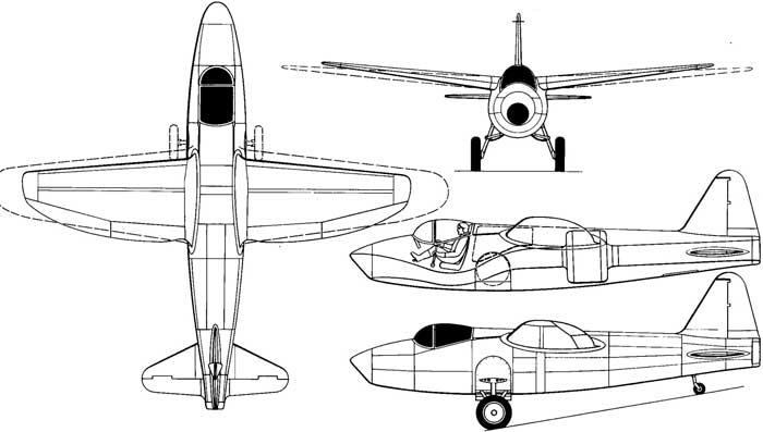 истребитель Хейнкель Не-178