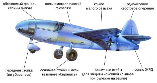 Самолет He-176