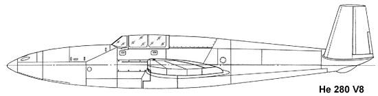 He 280 V8