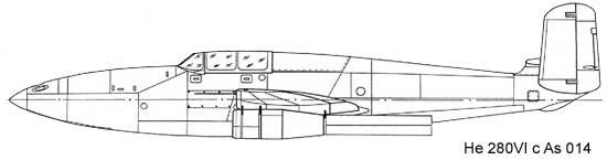 Хейнкель He 280VI