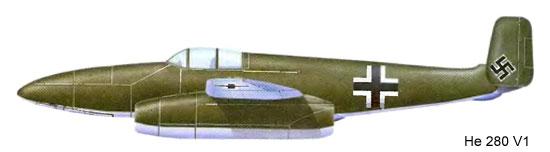 Истребитель He 280