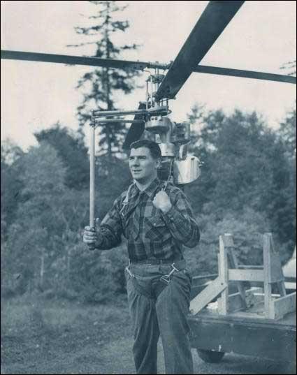 Вертолет Hoppicopter