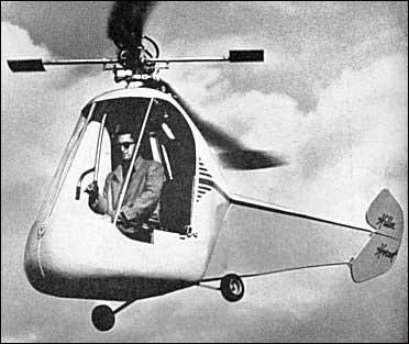 Вертолет Hiller HJ-1 Hornet