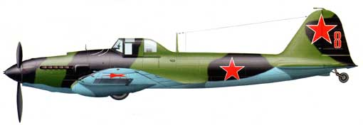 Одноместный штурмовик Ил-2
