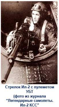 Стрелок самолета Ил-2
