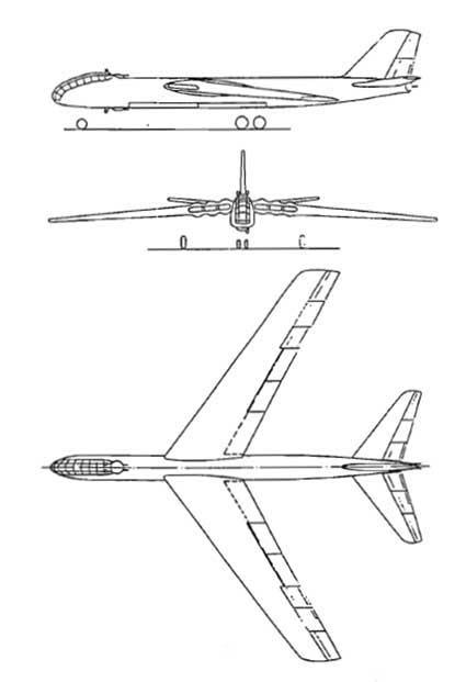бомбардировщик Юнкерс EF 132