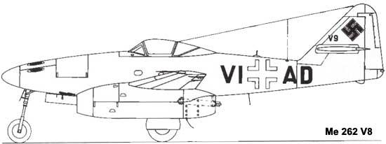 Me 262 V7