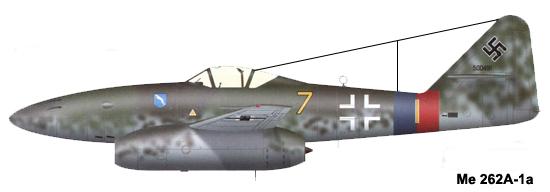 Мессершмитт Ме 262А-1а (Штурмфогель)