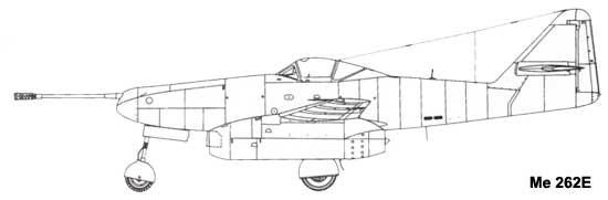 Me 262E