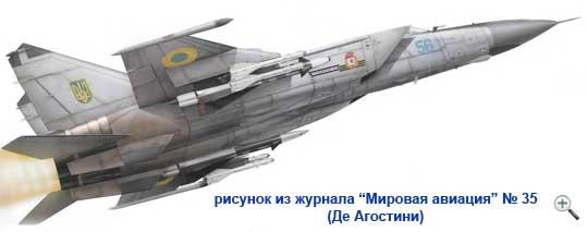 самолет МиГ-25РБ