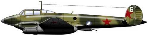 бомбардировщик Пе-2 31 серии