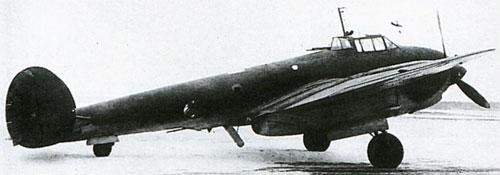 бомбардировщик Пе-2 110 серии