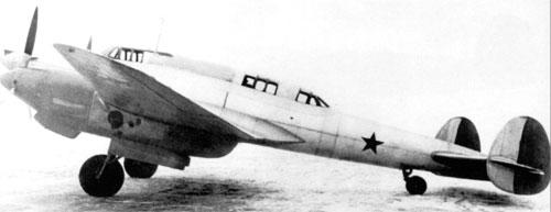 высотный истребитель Ви-100