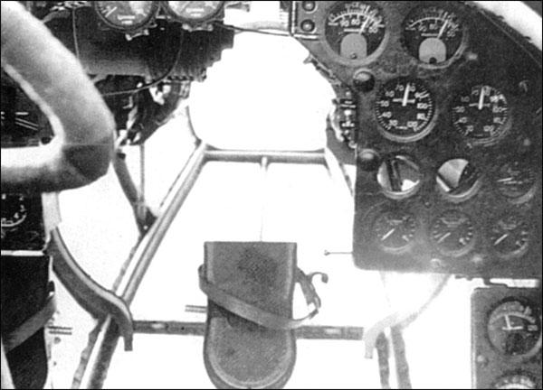 панель приборов Пе-2