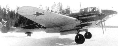 самолет-разведчик Пе-2Р