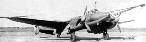 "Самолет Пе-2 ""Параван"""