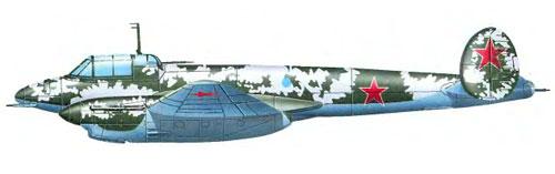 ночной бомбардировщик Пе-3бис
