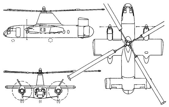 Вертолет Rotodyne