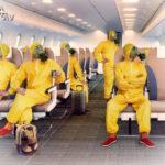 Все в масках – на борту самолетов
